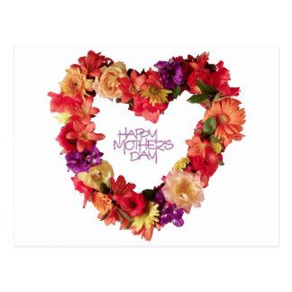 Postal Día de madres feliz, madre de Hapy día 12 de mayo