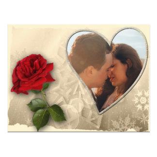 Postal Día de San Valentín personalizado de la foto