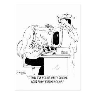 Postal Dibujo animado 6985 de la abeja
