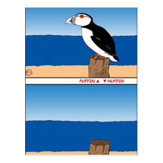 Postal Dibujo animado de 487 frailecillos