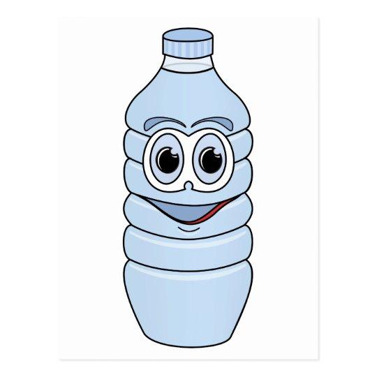 Botella De Agua Postal Dibujo a...