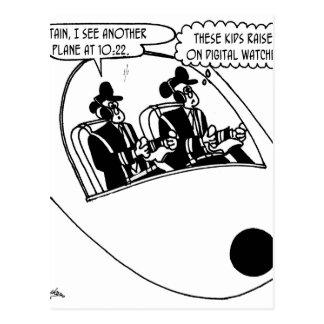 Postal Dibujo animado experimental 3683