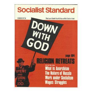 Postal Diciembre de 1967 estándar socialista
