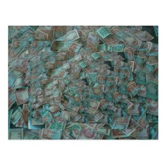 Postal Dinero del dinero del dinero