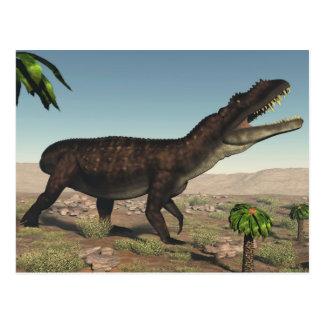 Postal Dinosaurio de Prestosuchus - 3D rinden