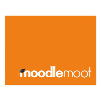Postal discutible de Moodle