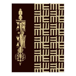 Postal Diseño africano #1 @ Stylnic