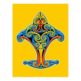 Postal Diseño céltico