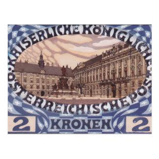 Postal Diseño de Koloman Moser- para el sello austríaco