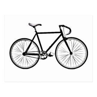 Postal Diseño de la bicicleta