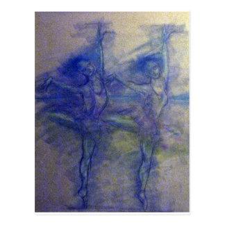 Postal Diseño de la danza y del ballet