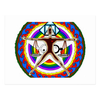 Postal Diseño del escudo