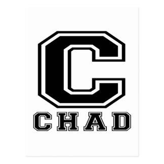 Postal Diseños de República eo Tchad