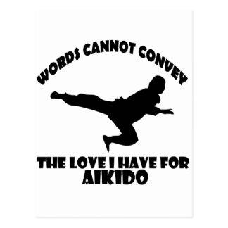 Postal Diseños del Aikido