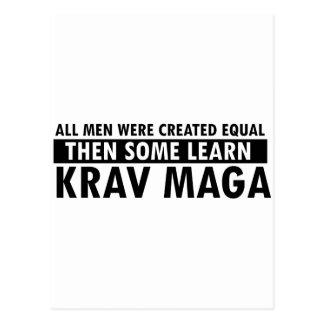 Postal Diseños del maga de Krava