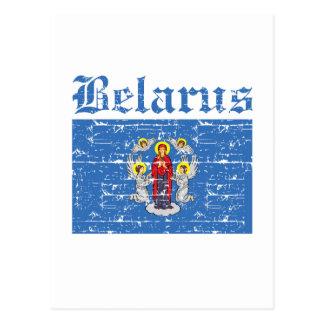 Postal Diseños frescos de la bandera de la ciudad de