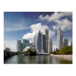 Postal Distrito financiero de Singapur