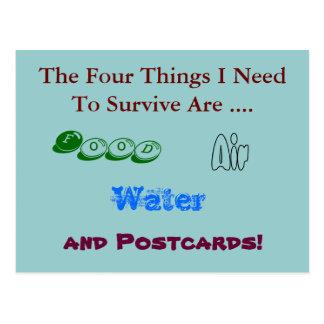 Postal divertida - postales de la necesidad a