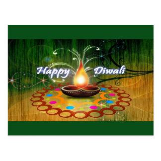Postal Diwali feliz