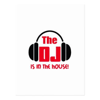 POSTAL DJ ESTÁ EN LA CASA