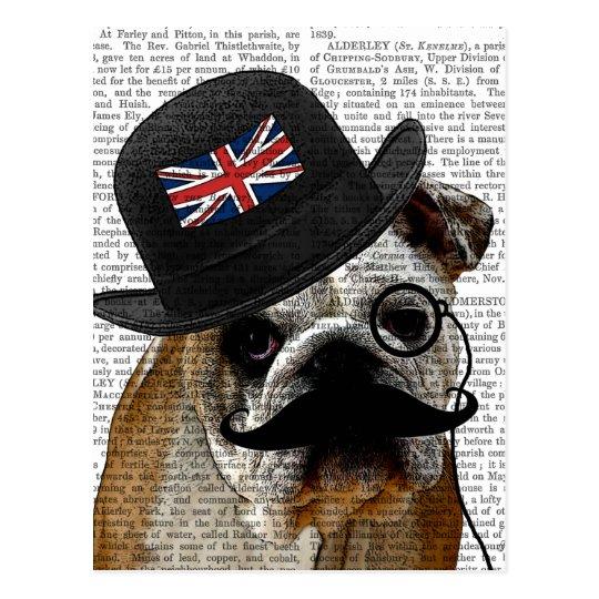 Postal Dogo y hongo británicos