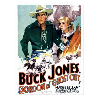 Postal Dólar Jones - Gordon de la ciudad del fantasma