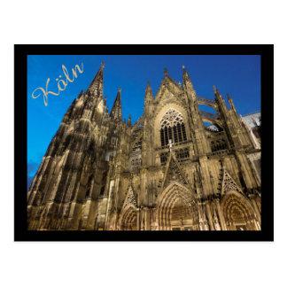 Postal Dom de Kölner/catedral de Colonia