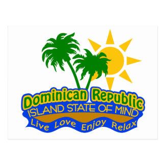 Postal dominicana del estado de ánimo