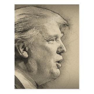 Postal Donald Trump