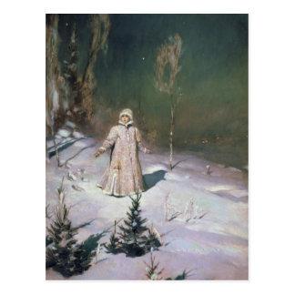 Postal Doncella de la nieve, 1899