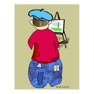 Postal Doodle de Abe R - Artiste de Zee