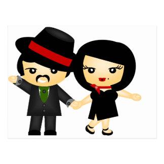 Postal Dos al tango