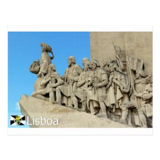 Postal DOS Descobrimentos de Lisboa - de Padrão