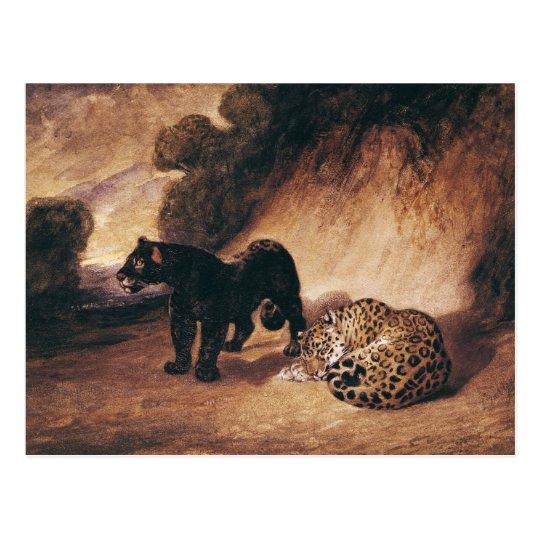 Postal Dos jaguares de Perú