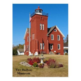 Postal Dos puertos Lighthouse.jpg
