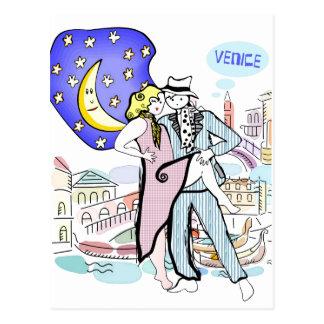 Postal Dos Tangueros en Venecia