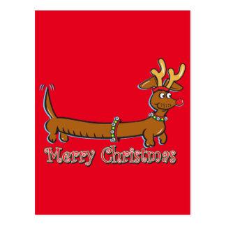 Postal Doxie-Feliz-Navidad