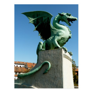 Postal Dragón de Ljubljana
