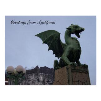 Postal dragón Ljubljana