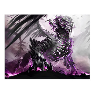 Postal Dragón púrpura 5