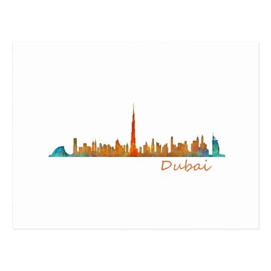 Postal Dubai Skyline Cityscape v1