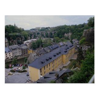 Postal Ducado del arco de Luxemburgo
