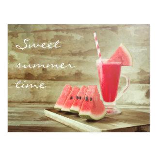 Postal dulce del verano