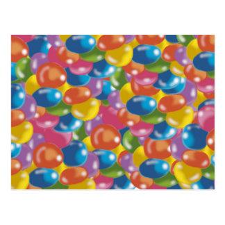 Postal dulces del color
