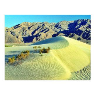 Postal Dunas de arena de Death Valley