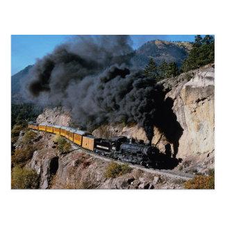 Postal Durango y ferrocarril de Silverton, no. 481, Cree
