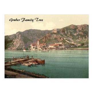 Postal Dürnstein, árbol de familia de Austria