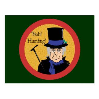 Postal Ebenezer Scrooge