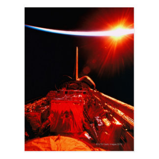 Postal Eclipse del espacio