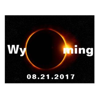 Postal Eclipse solar de Wyoming